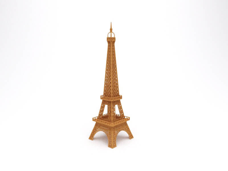 Torre Eiffel Projeto 100% Real Puzzle3D