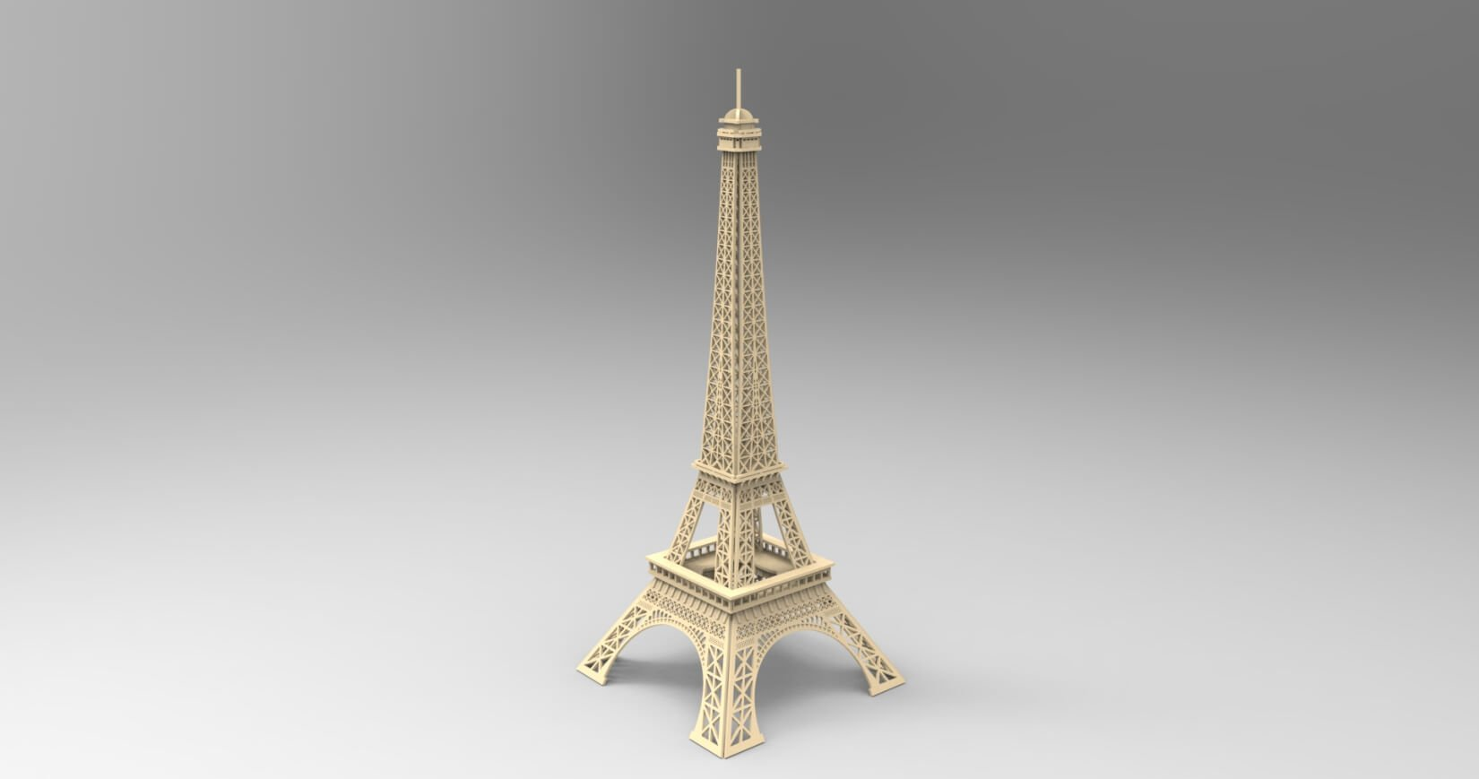 Eiffel Tower File .dxf
